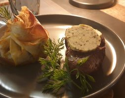 Beef Filet with gratin Dauphinois
