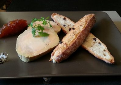 FOIE GRAS and TOAST